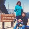 Photo of family on Mount-Mitchell