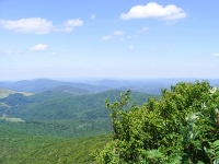 Photo of green valleys